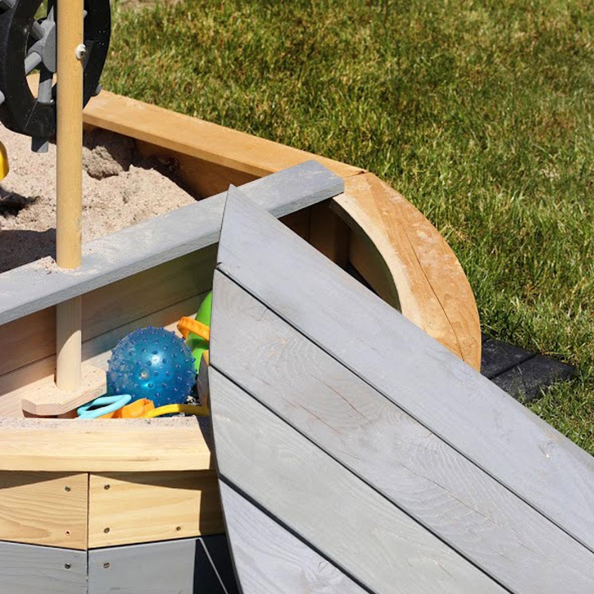 bac sable bateau de sun 06019 pirum. Black Bedroom Furniture Sets. Home Design Ideas