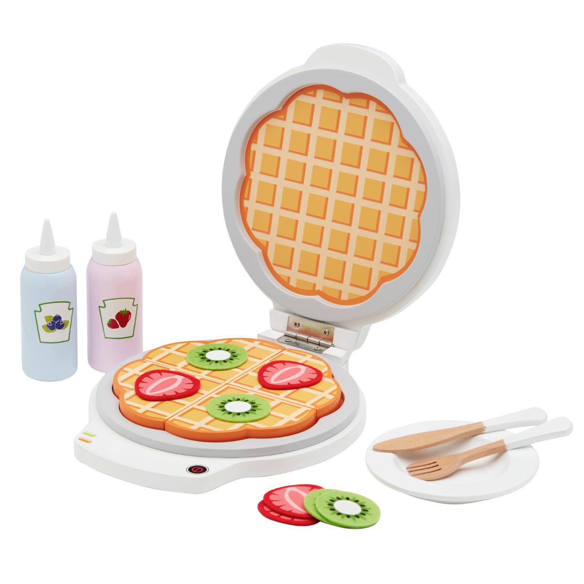 Kids Concept Waffeleisen mit Zubehör für die Kinderküche
