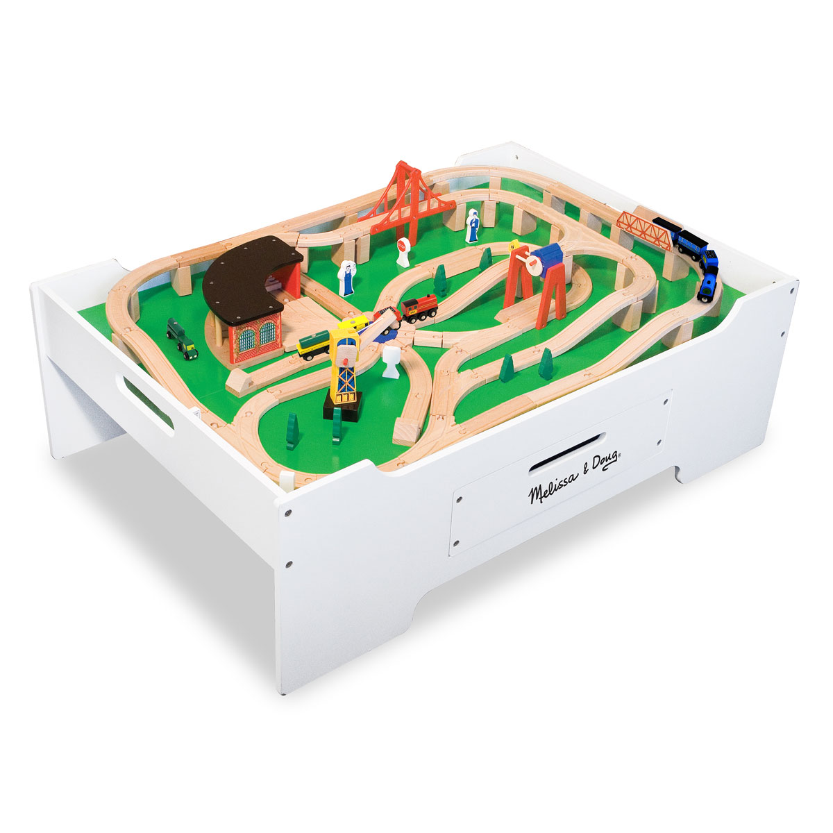 Melissa doug table de jeu multi activiti s 12371 for Table de multi