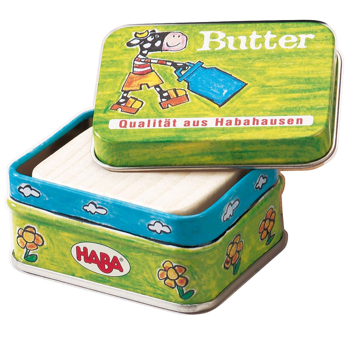 haba butter für kaufladen und kinderküche | pirum-holzspielzeuge.de