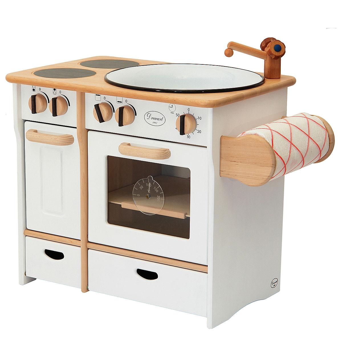 Drewart cucina stile nonna con porta scottex giocattoli di for Cucina giocattolo