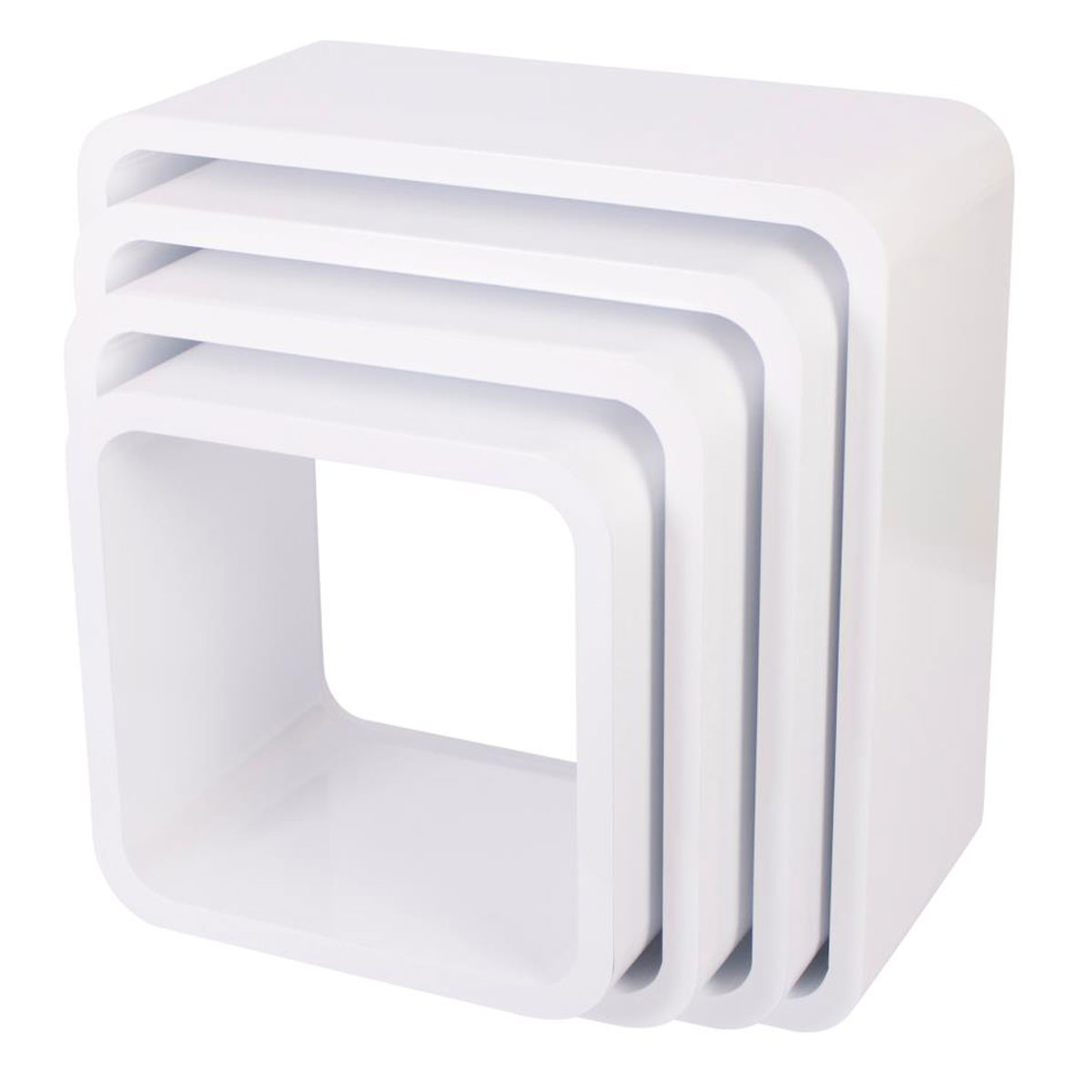 Sebra Cube Regale 4er Set Aus Holz 4009306 Quadratisch