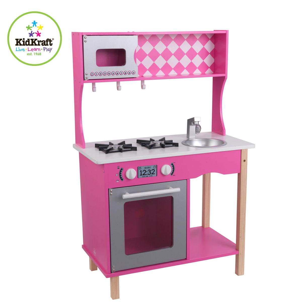 Kidkraft sweet sorbet kitchen 53343 pirum wooden toys - Cuisine bois enfant kidkraft ...