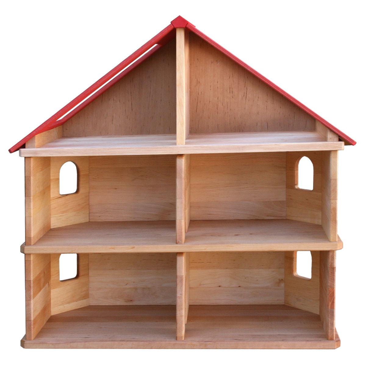 sch llner puppenstube aus holz pirum. Black Bedroom Furniture Sets. Home Design Ideas