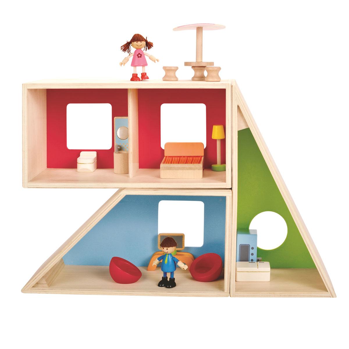 Ben noto Hape Casa delle Bambole Moderna - E3404 OJ16