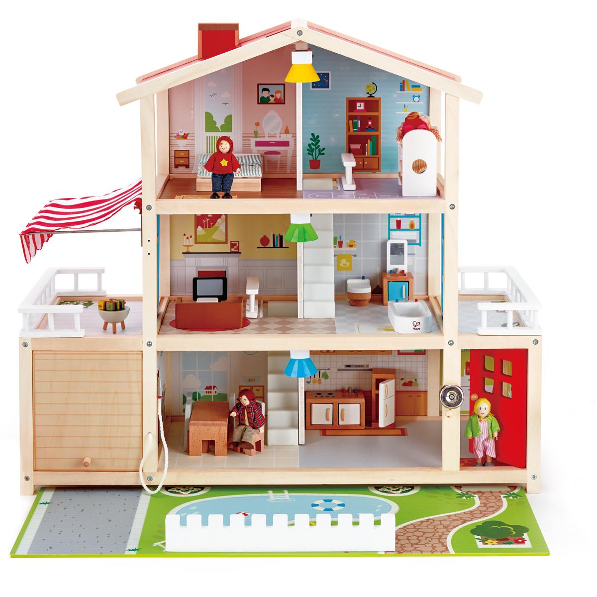 Hape Casa de muñecas - E3405 - pirum