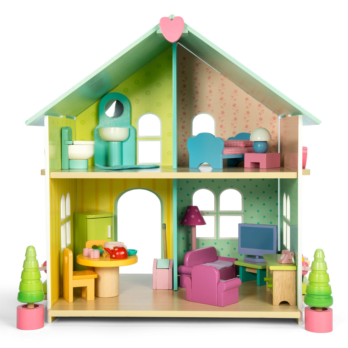 Le toy van evergreen house h171 pirum for Evergreen house