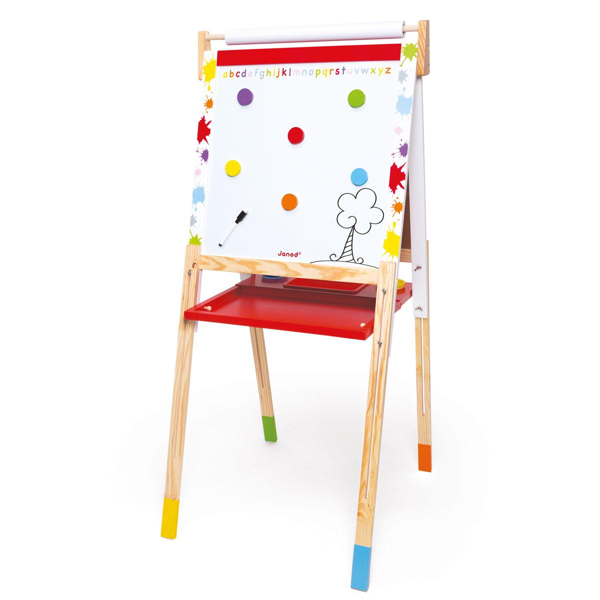 janod tafel staffelei splash aus holz h henverstellbar. Black Bedroom Furniture Sets. Home Design Ideas