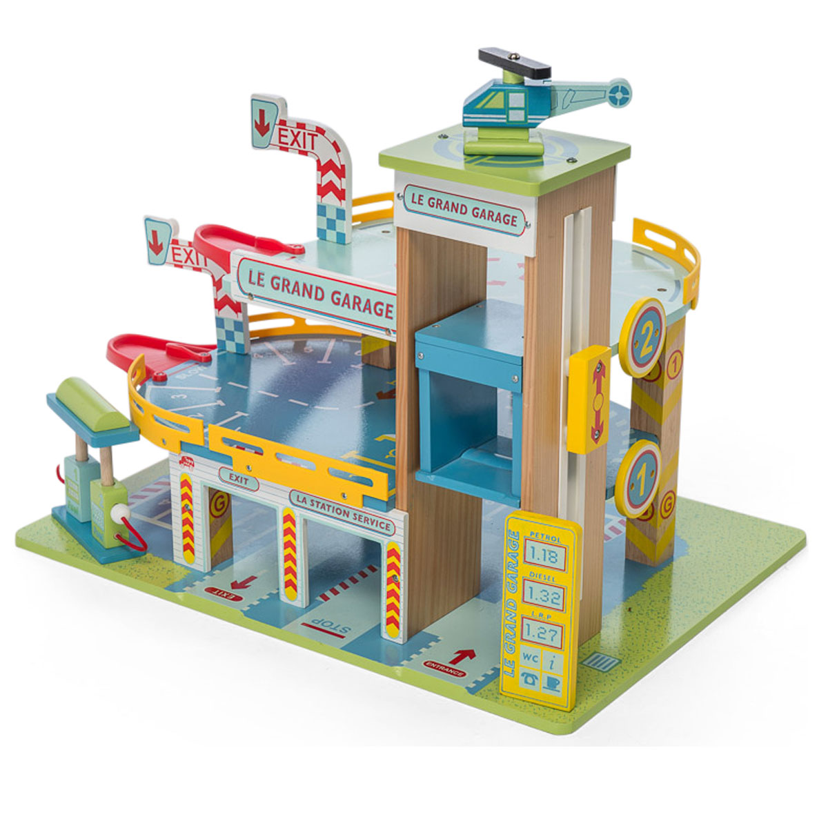 le toy van das gro es parkhaus tv439 pirum. Black Bedroom Furniture Sets. Home Design Ideas