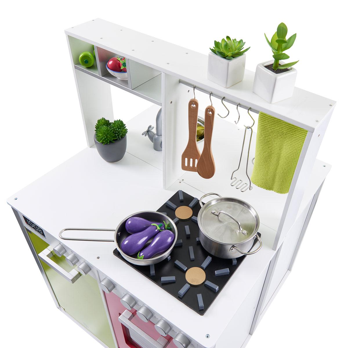 musterkind - spielküche nelumbo aus holz - 105 - pirum, Moderne