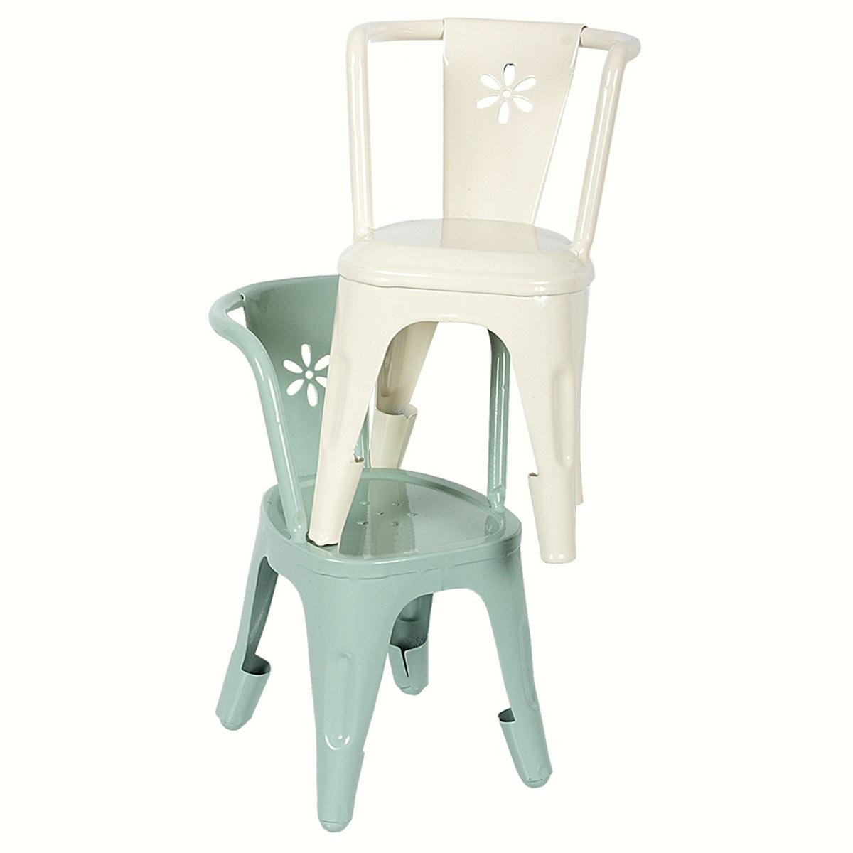 Künstlerisch Metall Stuhl Beste Wahl Maileg Möbel Metall-stuhl Weiss