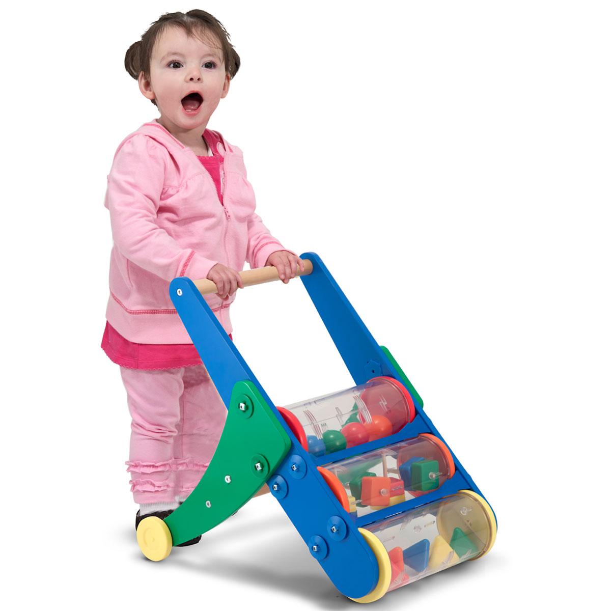 Melissa Amp Doug Rattle Rumble Push Toy 13077