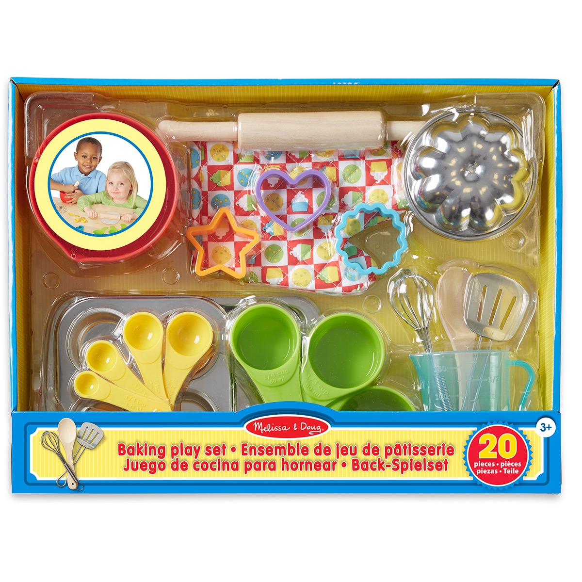 Melissa & Doug - Back-Spielset für die Kinderküche - 19356 - Pirum