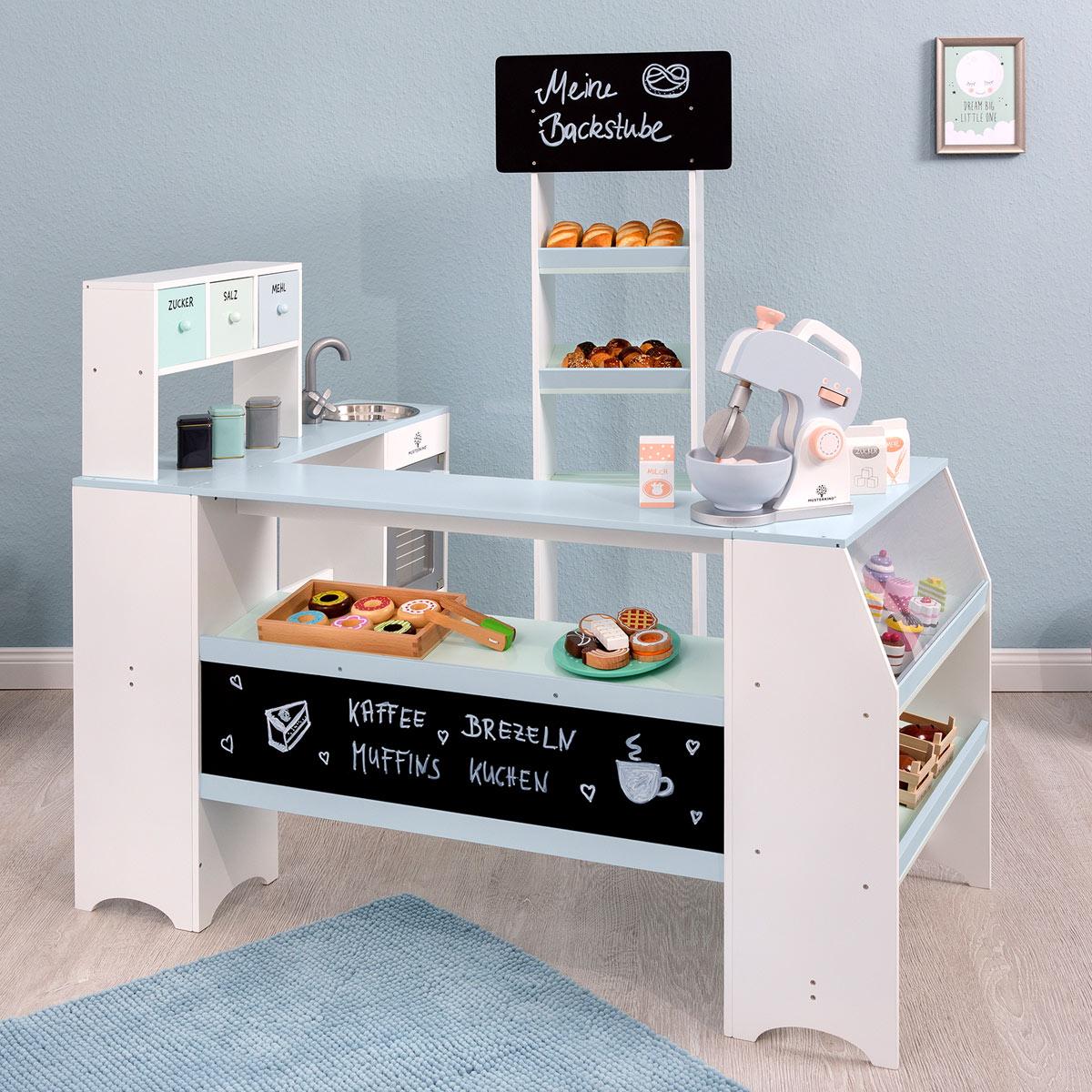 musterkind kaufladen b cker konditor grano aus holz. Black Bedroom Furniture Sets. Home Design Ideas