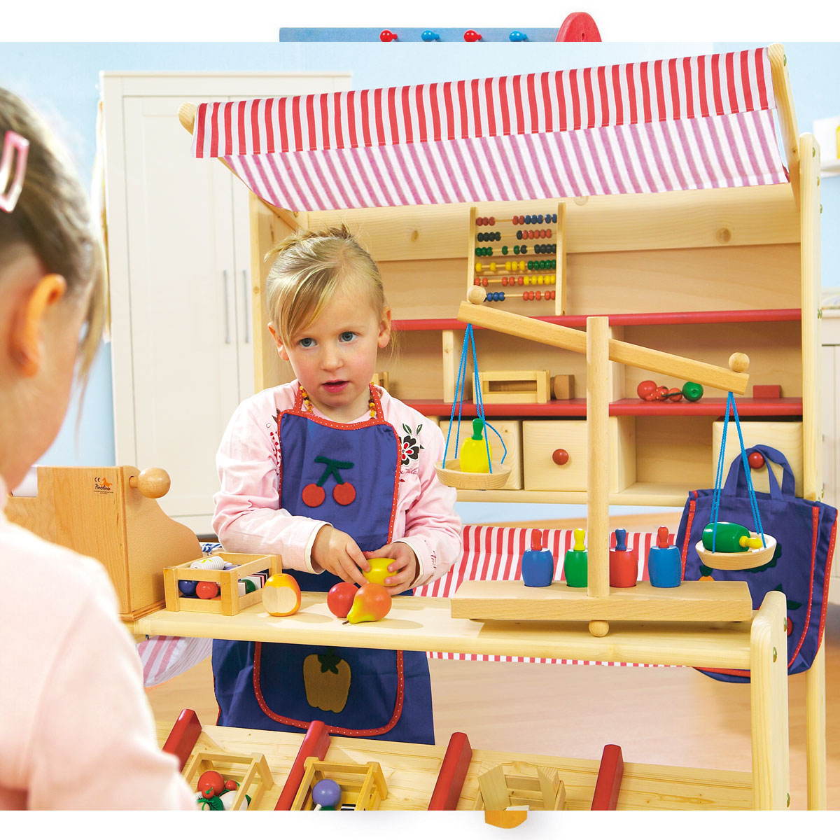 pinolino 221007 kaufladen lucy kinderkaufladen aus holz