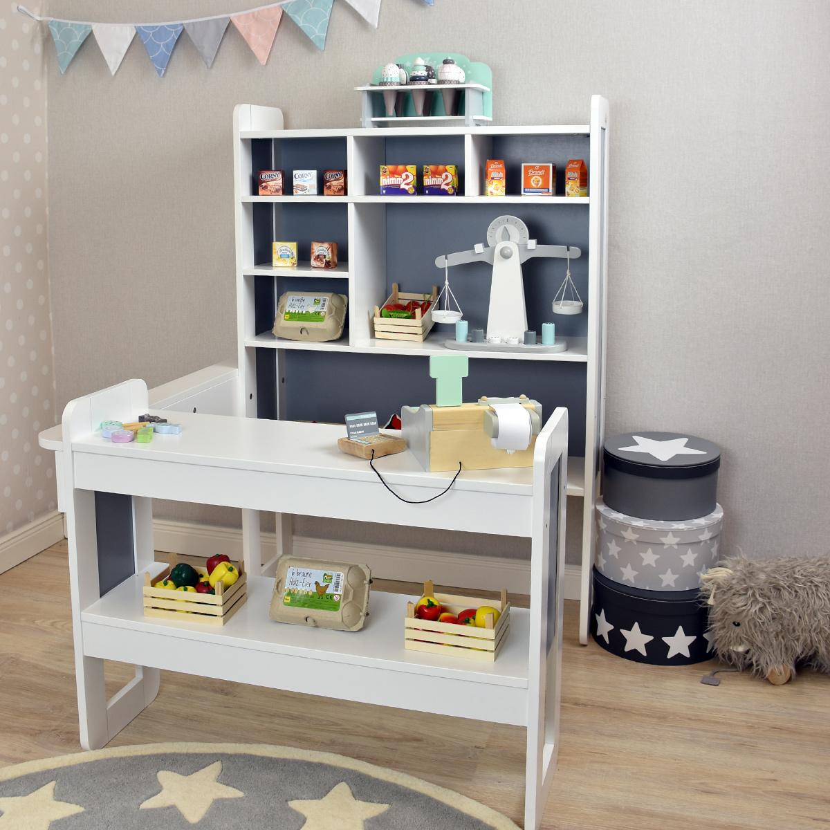 pinolino kaufladen curly aus holz 223446 pirum. Black Bedroom Furniture Sets. Home Design Ideas