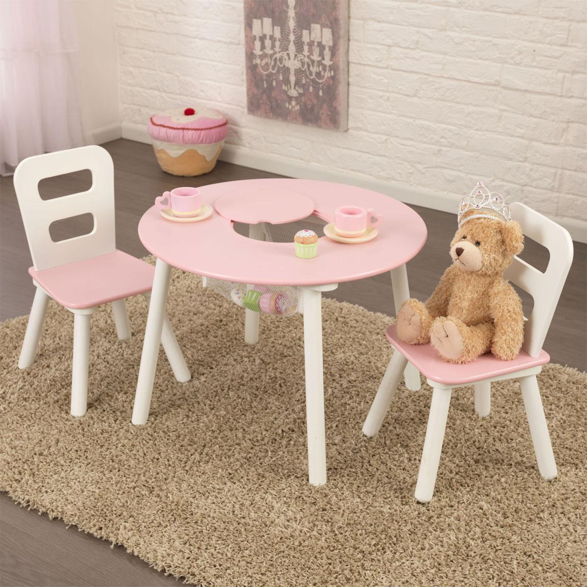 kidkraft kindersitzgarnitur mit tisch mit 2 st hlen pirum. Black Bedroom Furniture Sets. Home Design Ideas