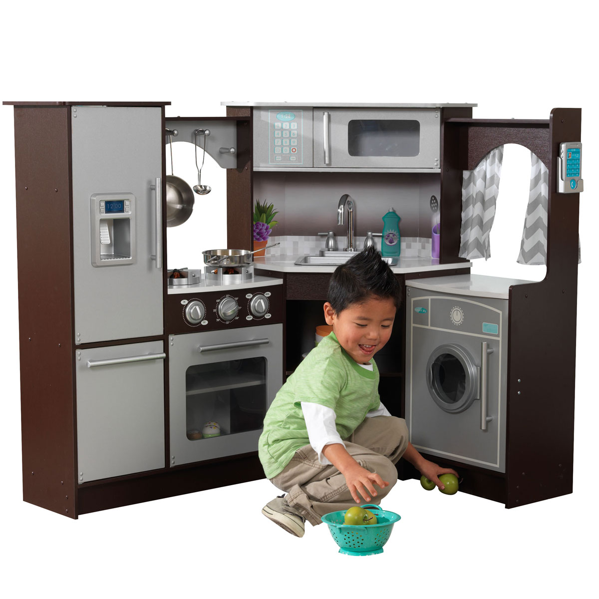 Kidkraft Corner Kitchen: KidKraft Ulitmate Corner Play Kitchen W/lights And Sounds