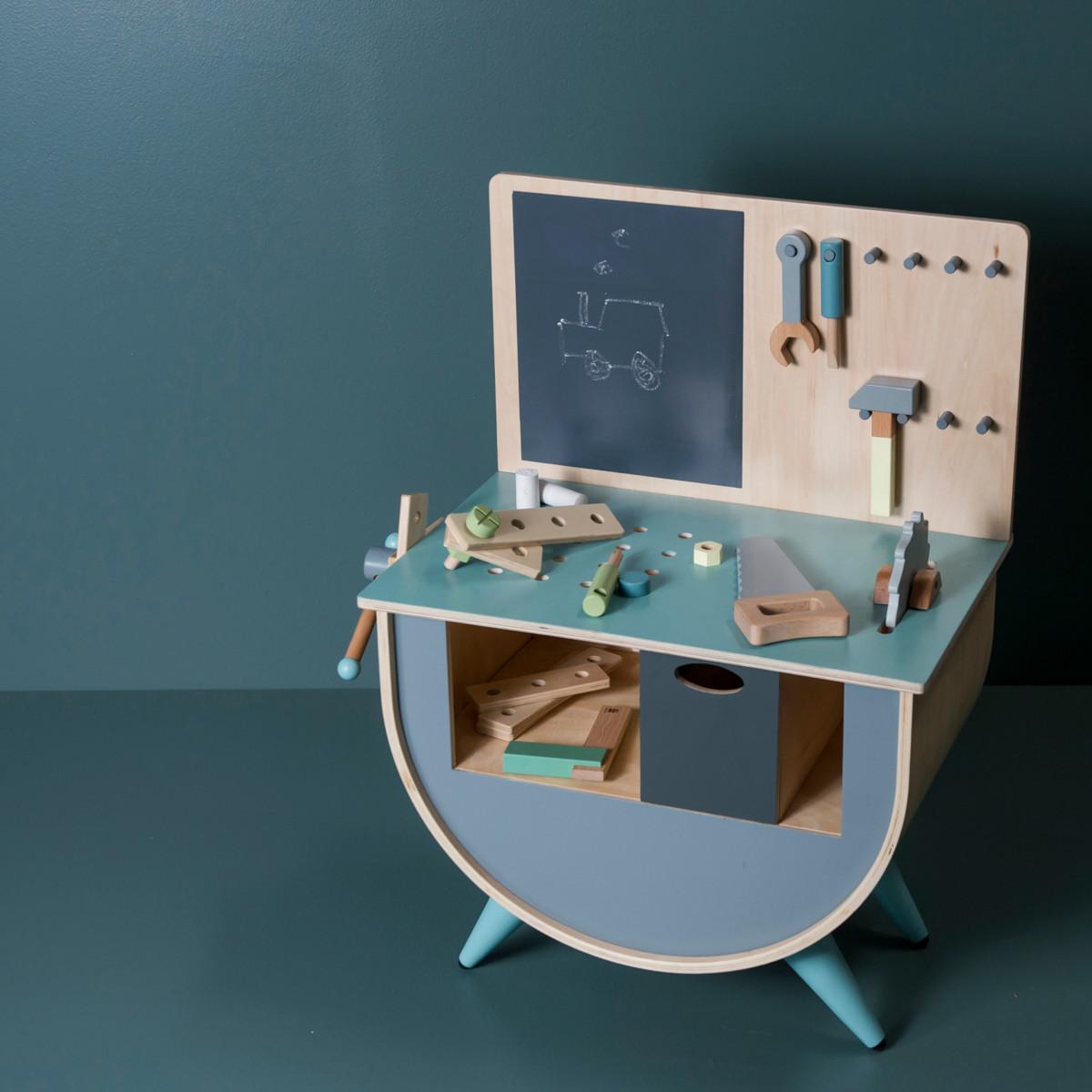ziemlich werkb nke holz bilder die kinderzimmer design ideen. Black Bedroom Furniture Sets. Home Design Ideas