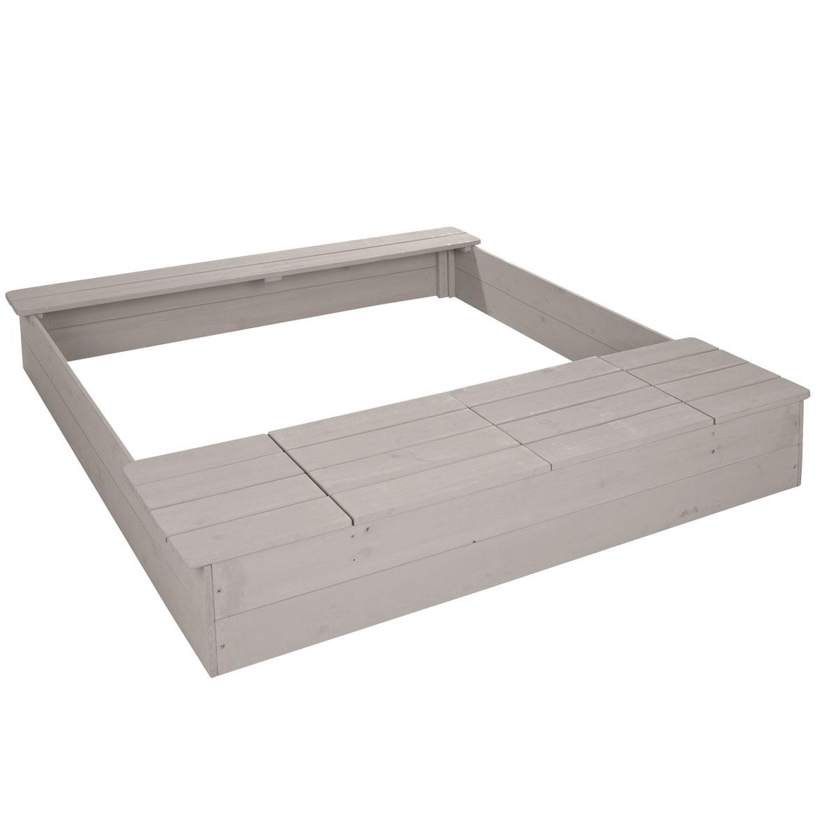 roba sandkasten aus holz mit spielwannen pirum. Black Bedroom Furniture Sets. Home Design Ideas