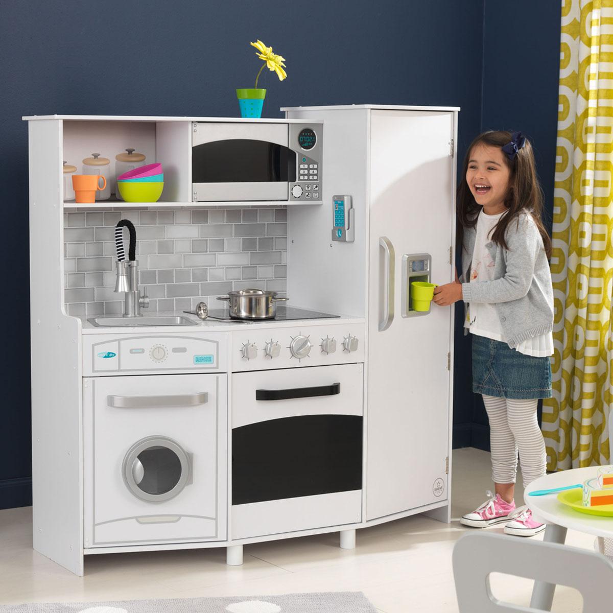 Kids Play Kitchen White