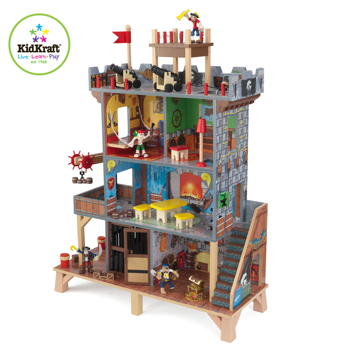 Toys For Active Boys : Kidkraft pirate s cove play set