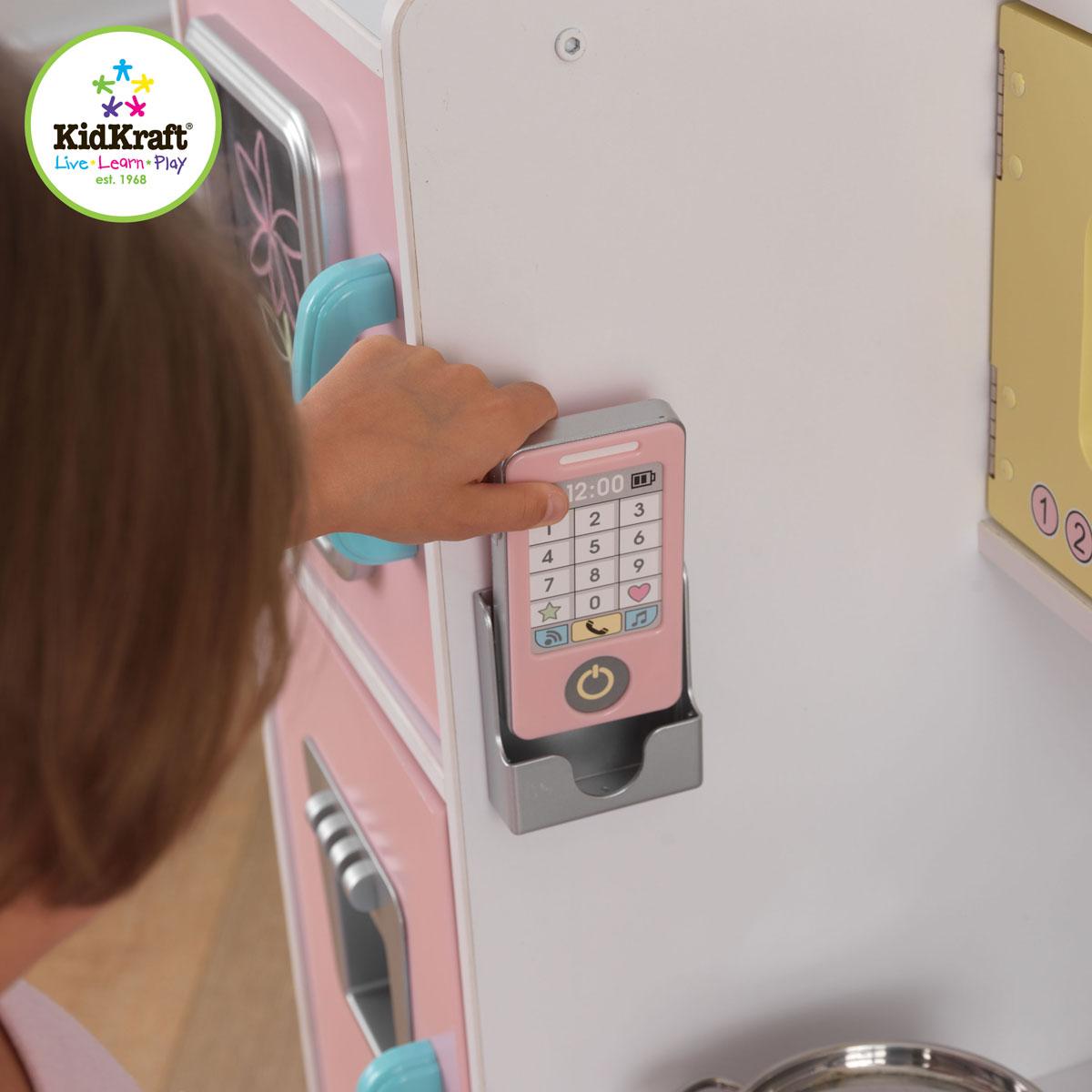 Kidkraft Pastellfarbene Küche Uptown 53257 | Kidkraft Kuche Uptown In Pastellfarben 53257 Pirum