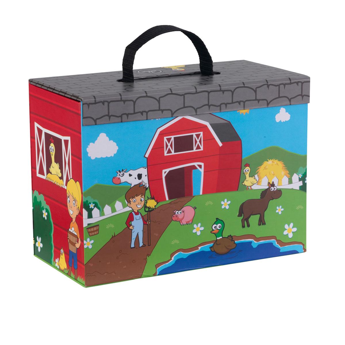 Kidkraft Travel Box Play Set - Farm  sc 1 st  Pirum-Holzspielzeuge & Kidkraft Travel Box Play Set - Farm 63386 | Pirum Wooden Toys Aboutintivar.Com