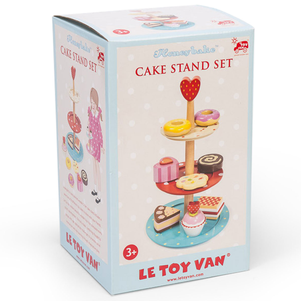 Le toy van cake stand set tv283 pirum for Kitchen set cake