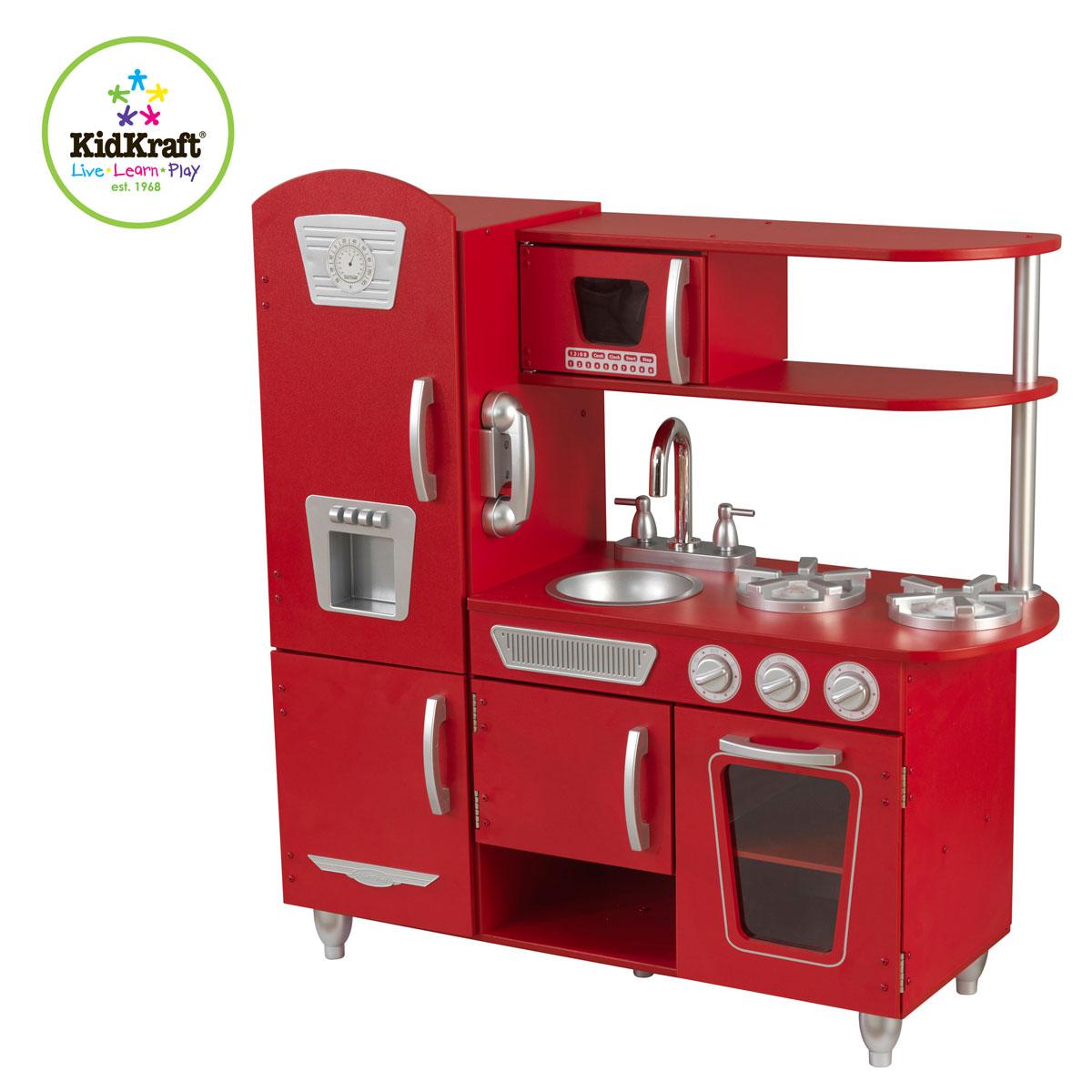KidKraft Red Vintage Kitchen 53173