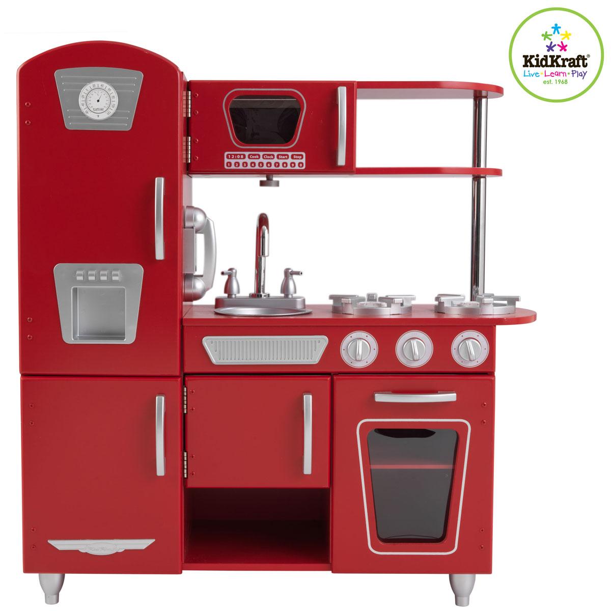 Idee Chambre A Coucher Adulte : kidkraft cuisine vintage rouge 53173 dans notre kidkraft cuisine
