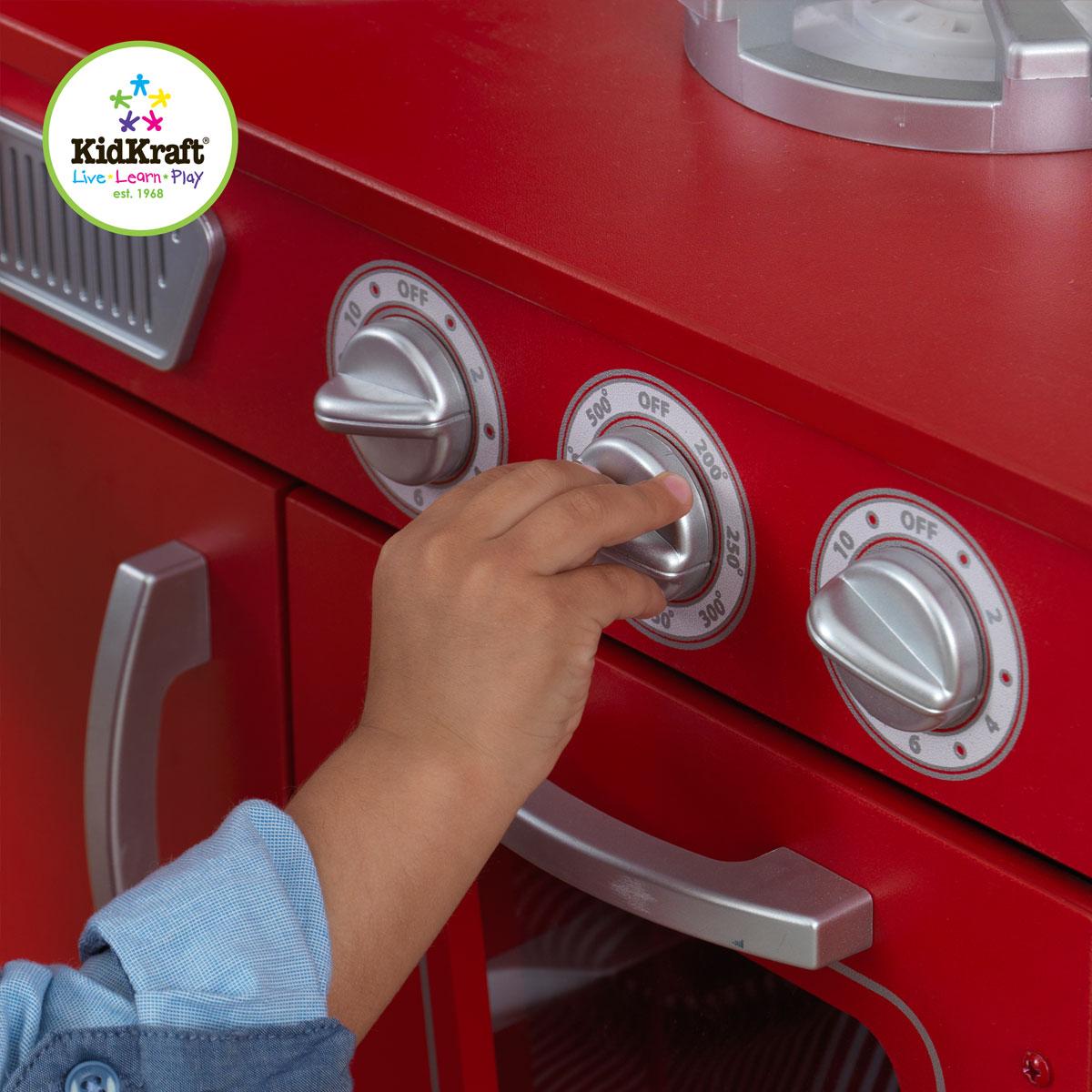 Red Vintage Kitchen 53173
