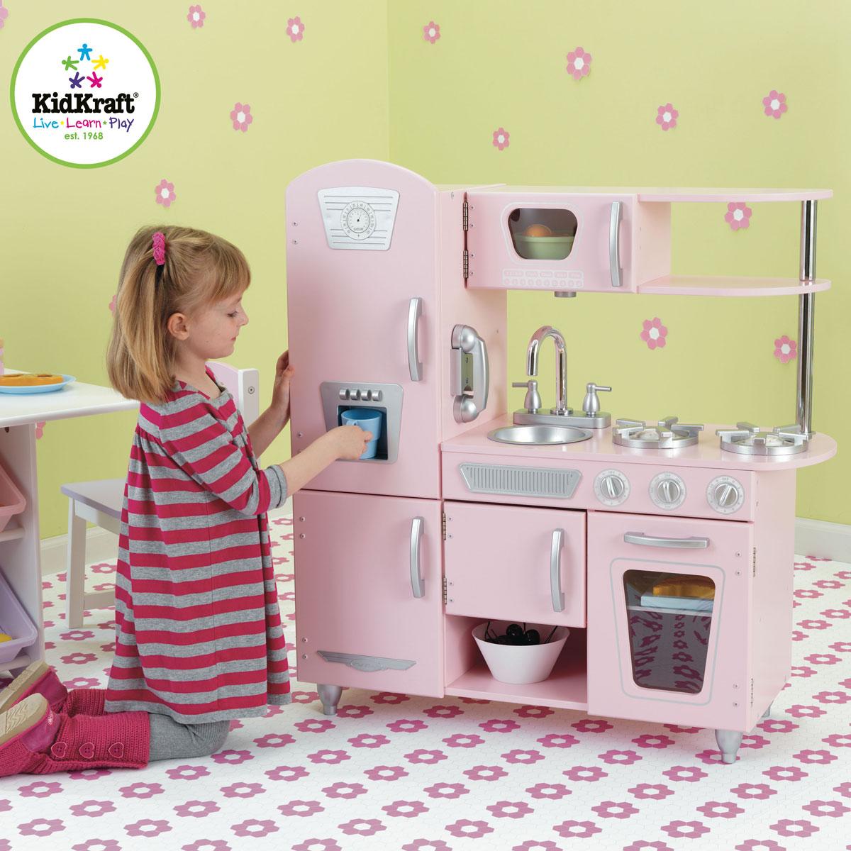 holzk che kinderk che aus holz von kidkraft pirum. Black Bedroom Furniture Sets. Home Design Ideas