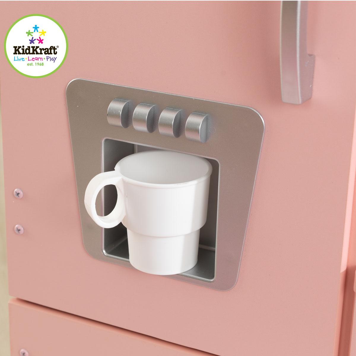 kidkraft cucina vintage rosa 53179. Black Bedroom Furniture Sets. Home Design Ideas