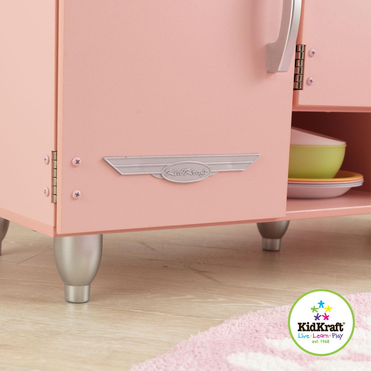 pink vintage kitchen 53179