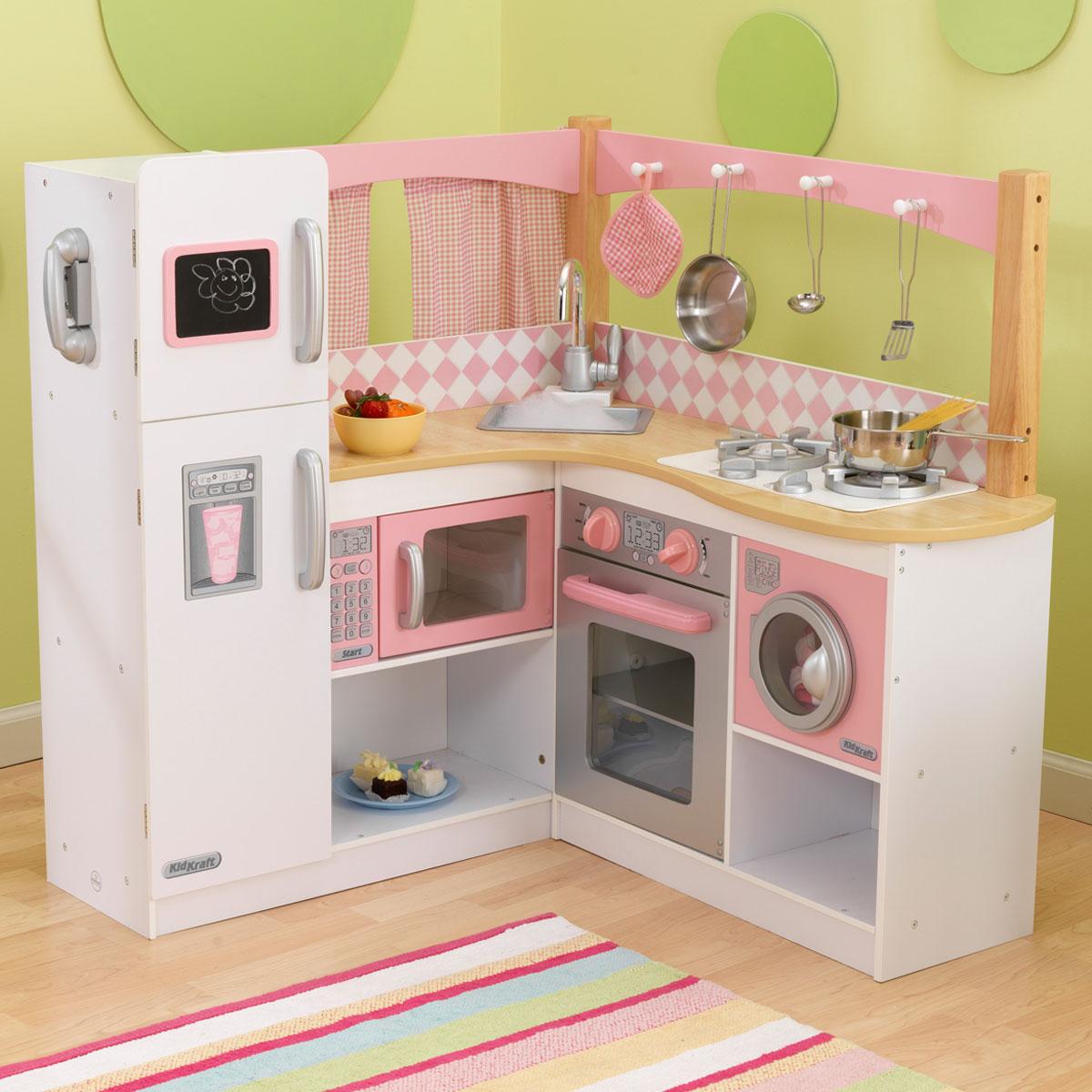 cuisine grand gourmet de kidkraft. Black Bedroom Furniture Sets. Home Design Ideas