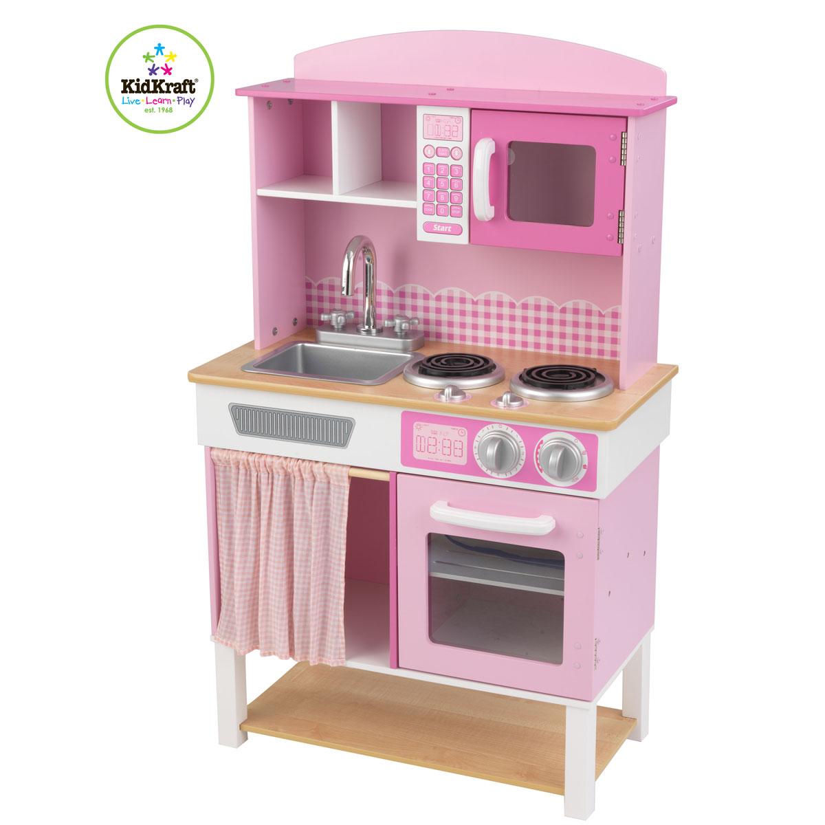 kidkraft cuisine home cooking 53198. Black Bedroom Furniture Sets. Home Design Ideas