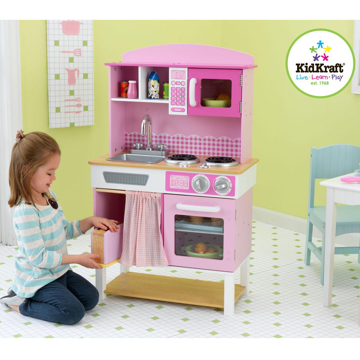 holzküche für kinder: kinderküche von kidkraft