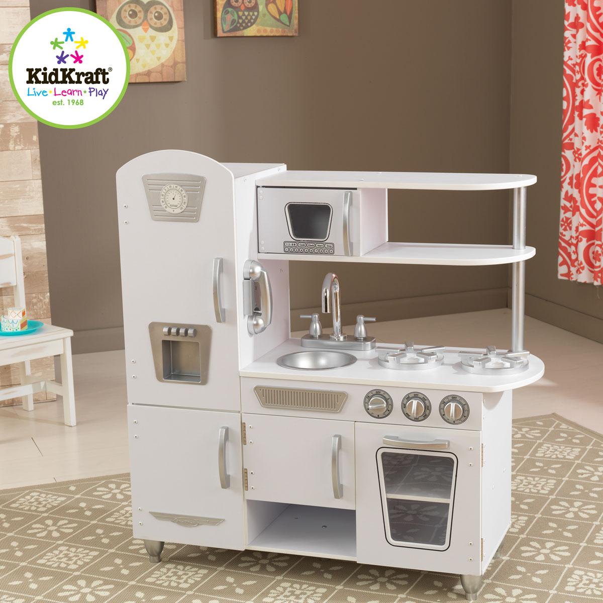 küche retro | jtleigh.com - hausgestaltung ideen - Kidkraft Weiße Retro Küche 53208