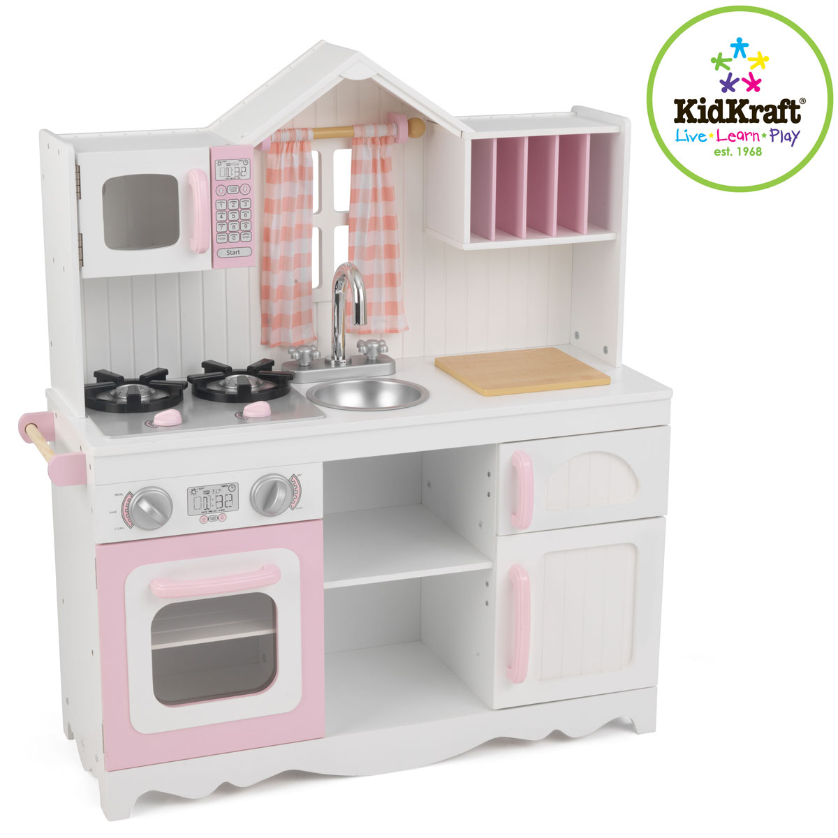 Kidkraft modern country kitchen 53222
