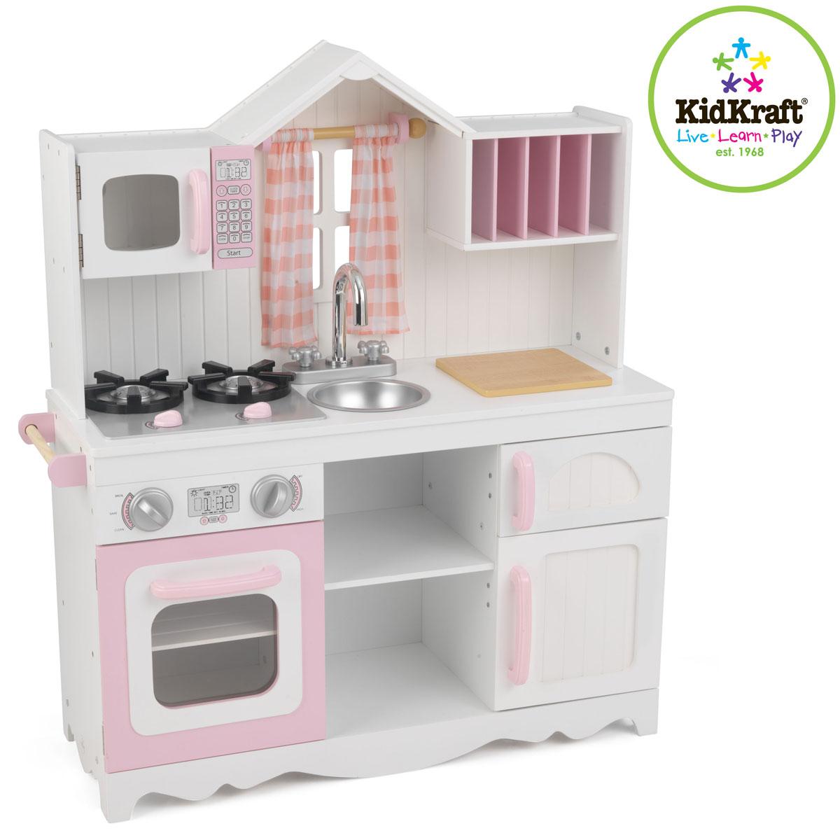 KidKraft Nowoczesna kuchnia dla dzieci Country 53222 -> Kuchnia Dla Dziecka Do Zabawy