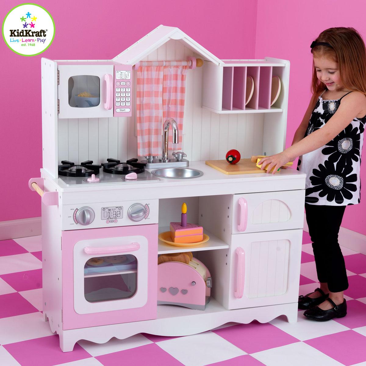 kidkraft moderne bauernk che aus holz 53222. Black Bedroom Furniture Sets. Home Design Ideas