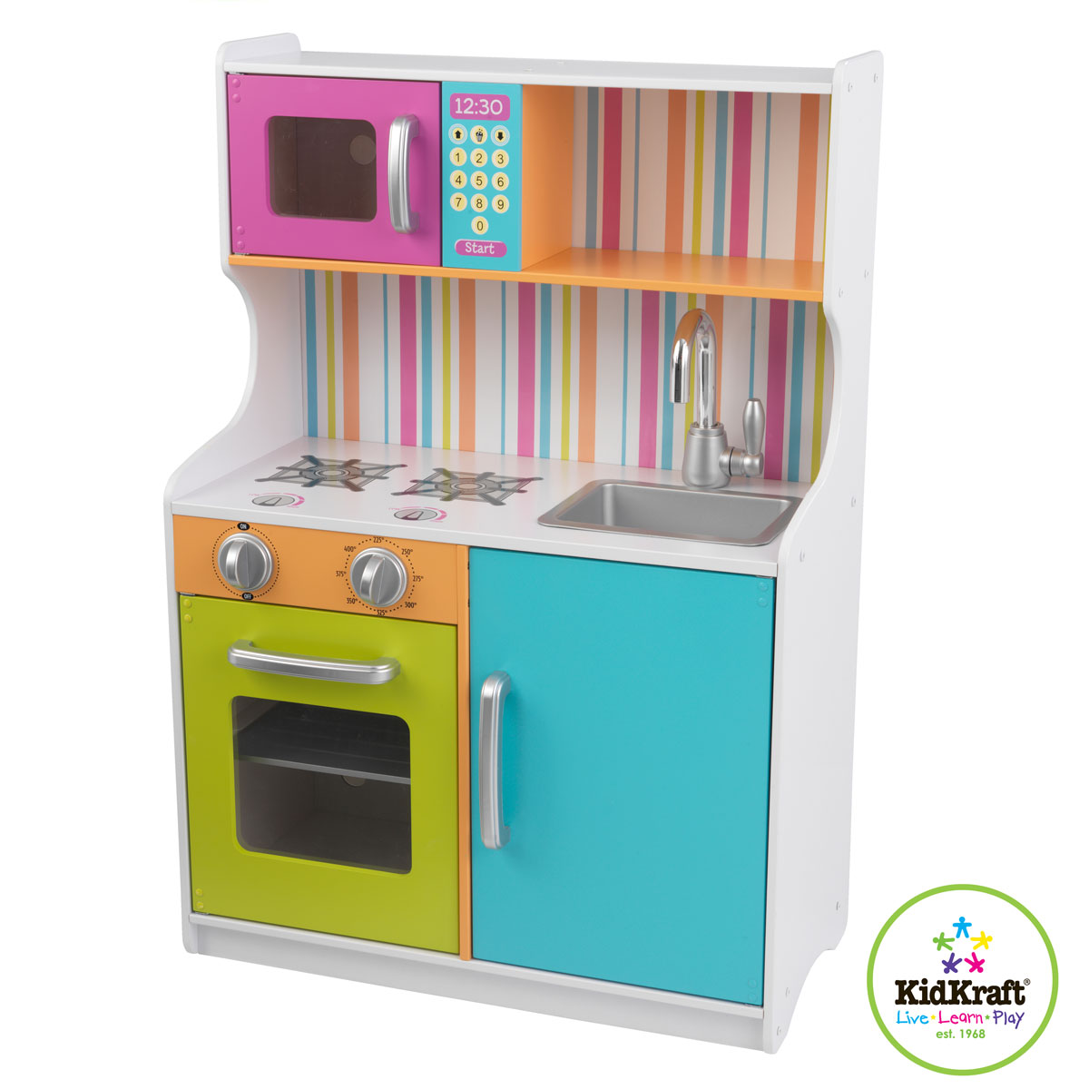 Kidkraft bright toddler kitchen 53294 Bright kitchen