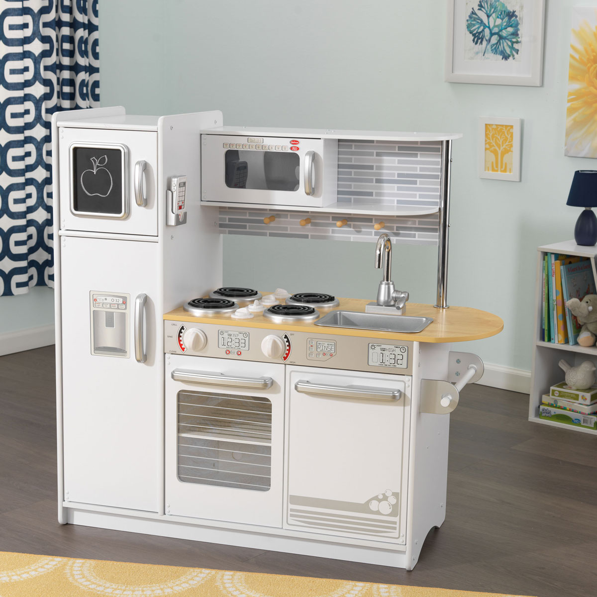 Kidkraft Kitchen White kidkraft uptown white kitchen 53335