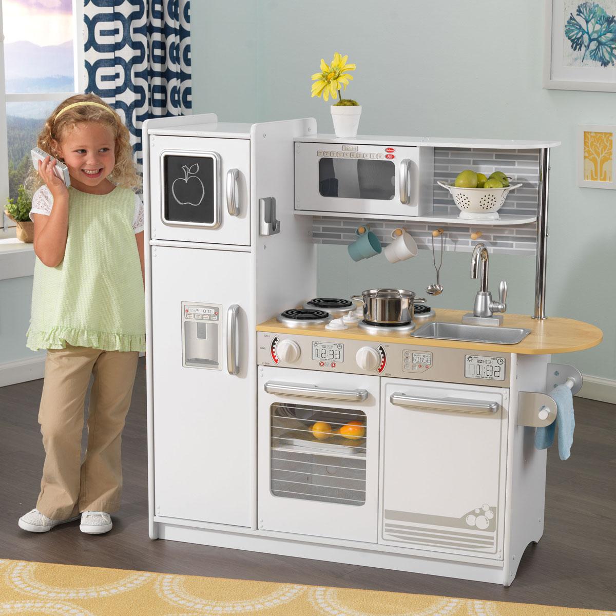 Kidkraft uptown white kitchen 53364
