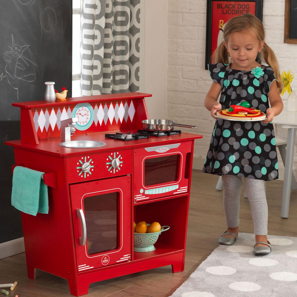 Chambre Fille Kidkraft : Davaus cuisine rouge kidkraft avec des idées