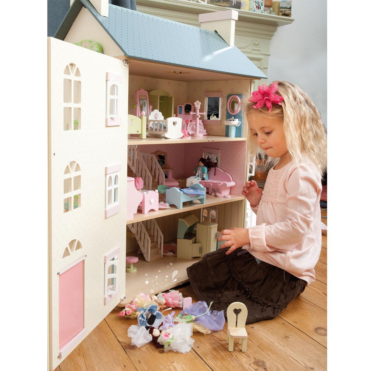 le toy van cherry tree hall domek h150 pirum. Black Bedroom Furniture Sets. Home Design Ideas