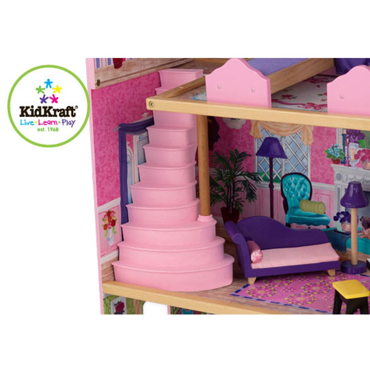 Kidkraft 65082 la mia casa dei sogni giocattoli di legno for Progetta la mia casa dei sogni