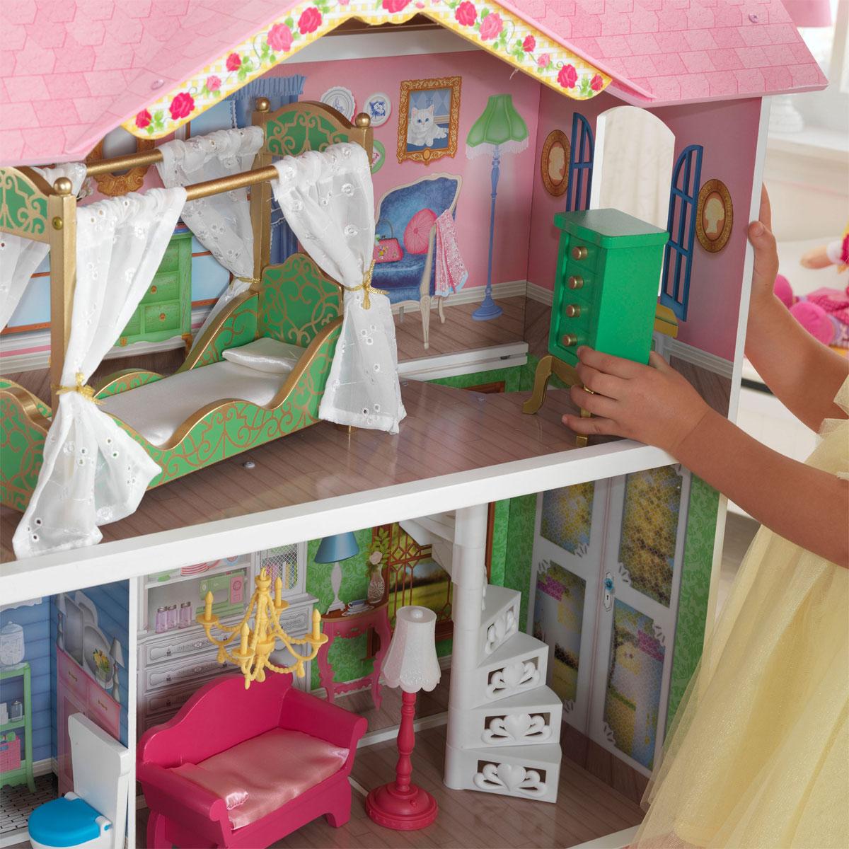kidkraft puppenhaus sweet savannah 65851 pirum. Black Bedroom Furniture Sets. Home Design Ideas