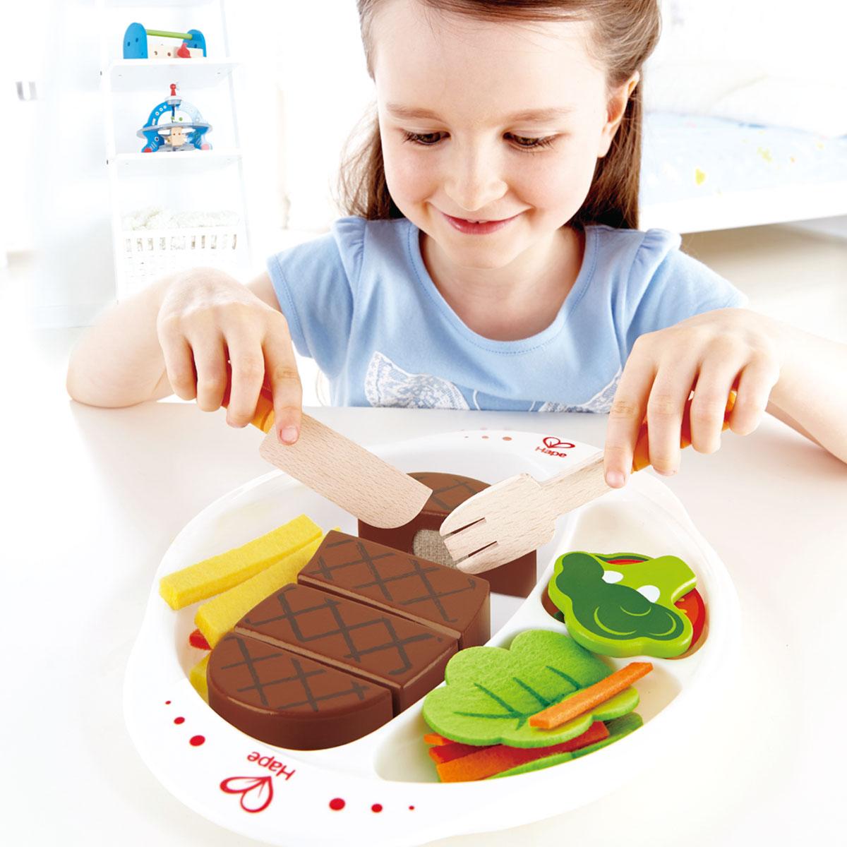 Hape kantinenschmaus fur die kinderkuche e3141 pirum for Hape kinderküche